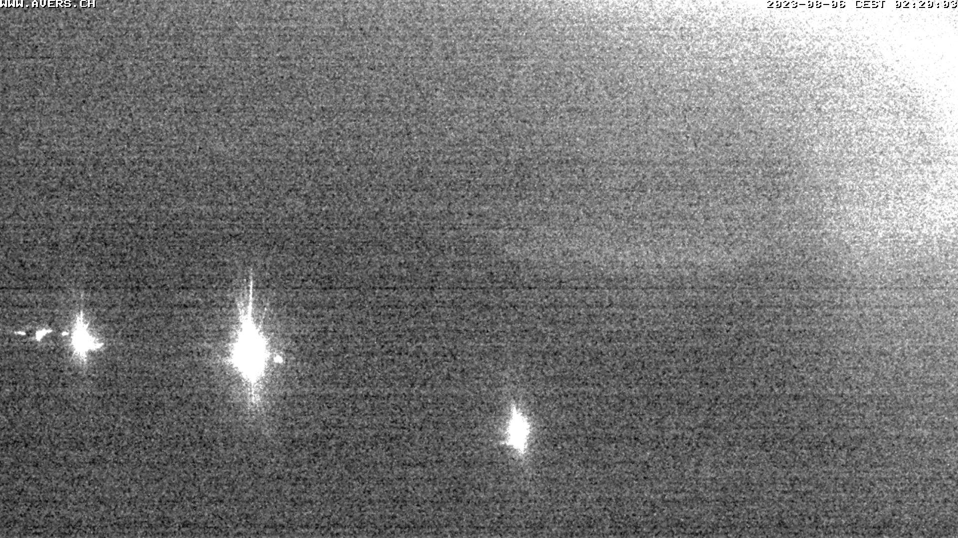 Grossansicht 02h - Avers Skilift Cavetta mit Sicht in die Bregalga.