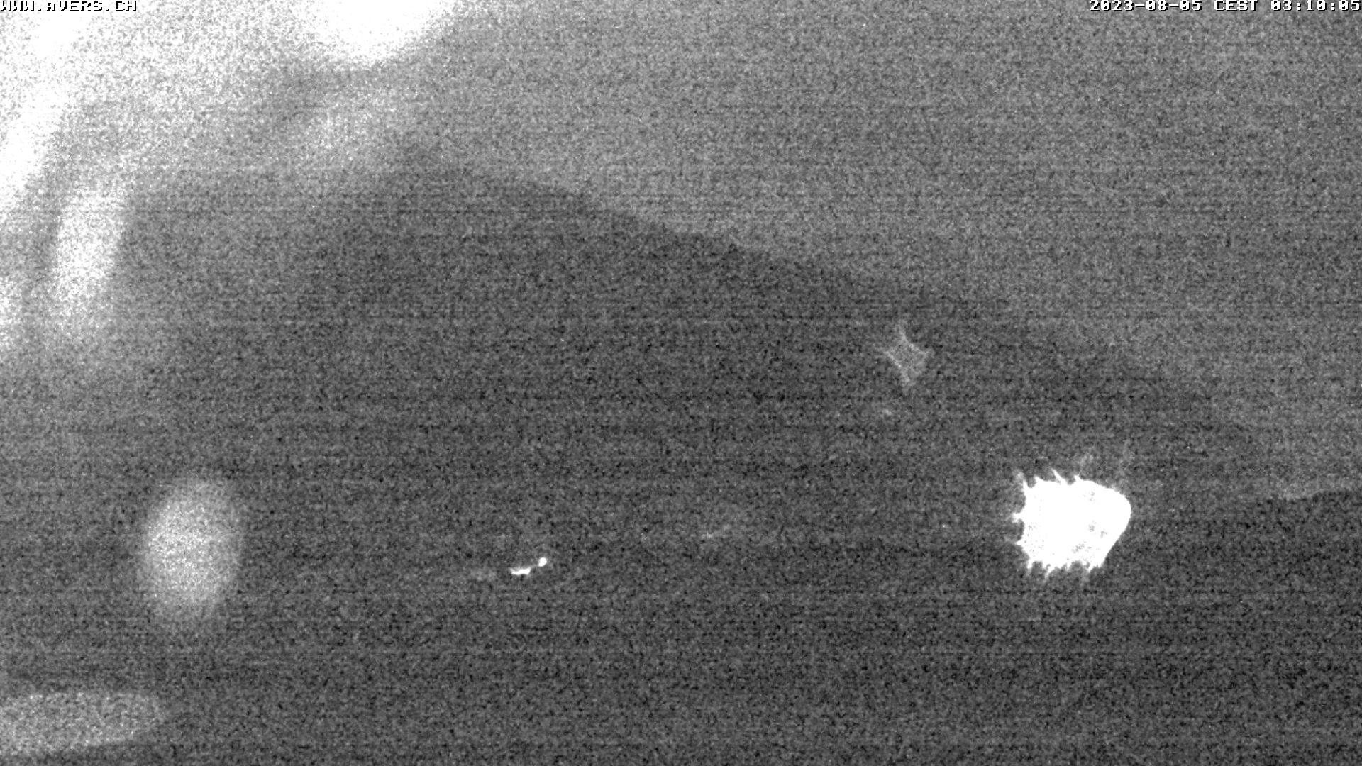 Grossansicht 03h - Avers Skilift Cavetta mit Sicht in die Bregalga.