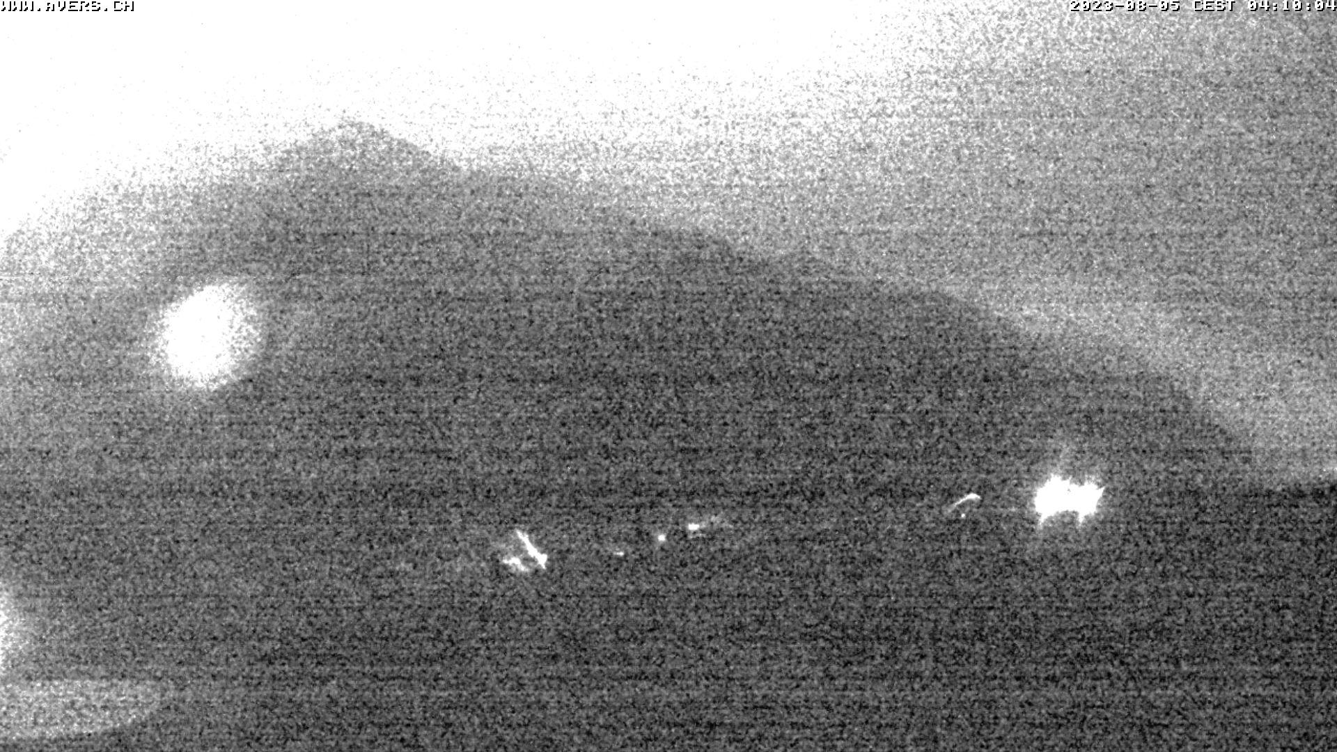 Grossansicht 04h - Avers Skilift Cavetta mit Sicht in die Bregalga.